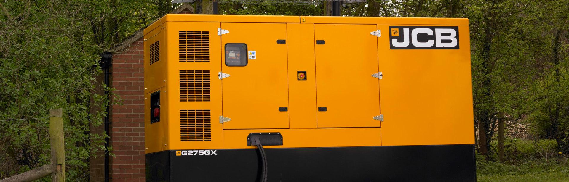 JCB Generators 140-220 kVA IVECO – Clarke & Pulman