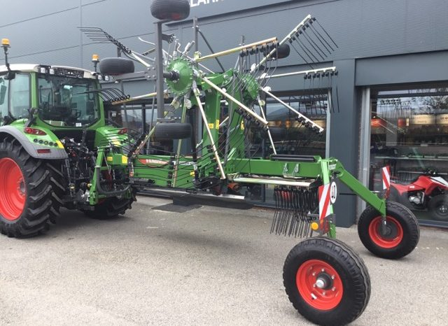 FENDT FORMER 671 TWIN ROTOR RAKE full