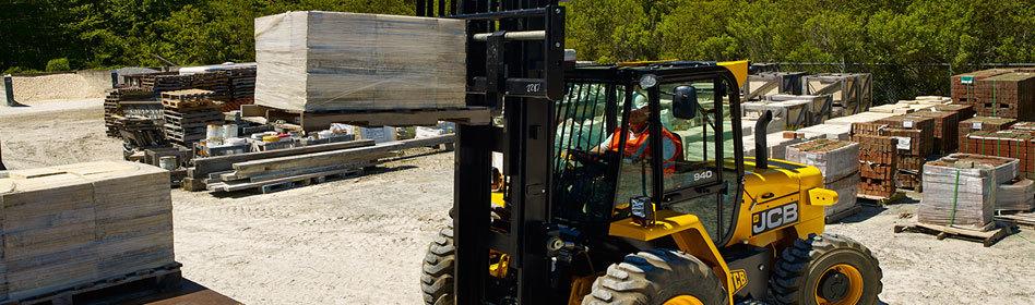 JCB 930 Rough Terrain Forklift – Clarke & Pulman